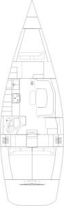 comet 41 layout interni 3 cab 1 wc